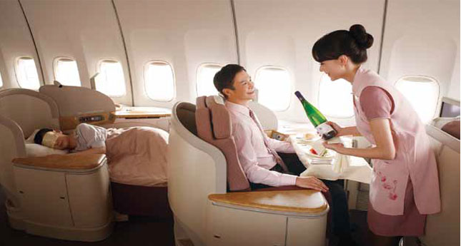 China Airlines First Class