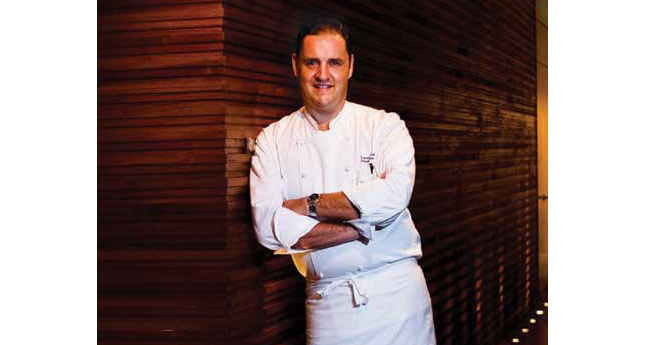 Executive Chef Lucas Granville, Grand Hyatt Singapore