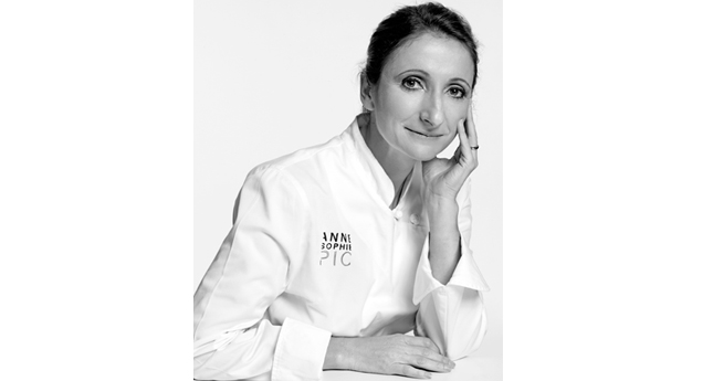 Chef Anne-Sophie Pic, Air France