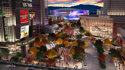 Artist's rendering of MGM's Monte Carlo Theater