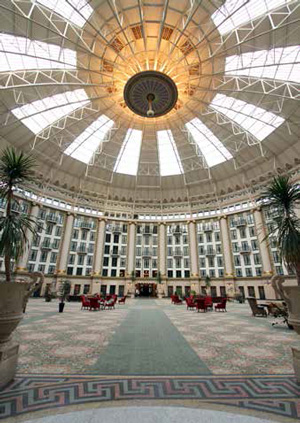 Dome in the West Baden Springs Hotel