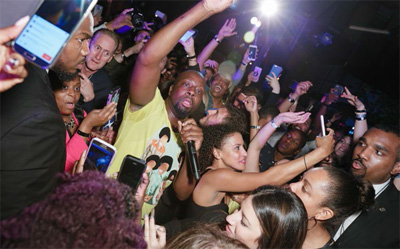 Marriott Rewards members can redeem points for experiences like attending the opening party at the Renaissance New York which featured performances from Wyclef Jean, The Knocks and others