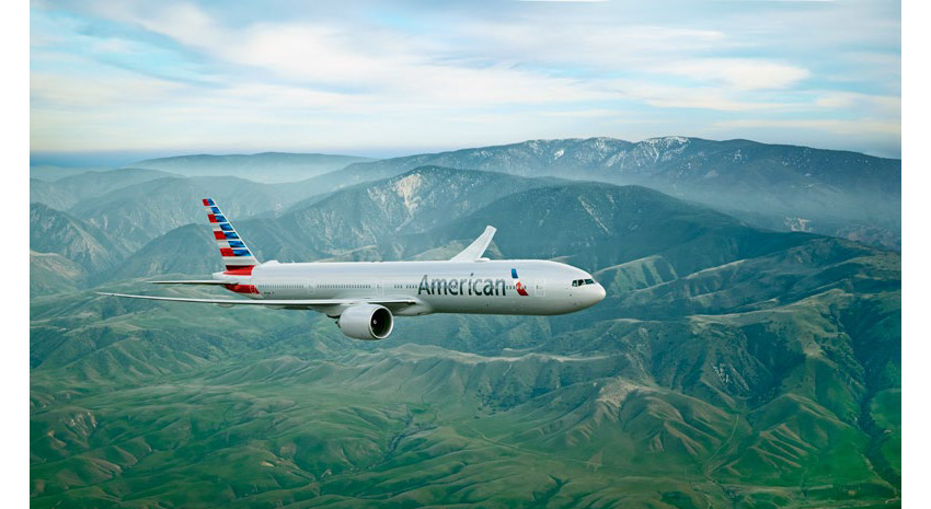 American Airlines' Boeing 777-300 PHOTO: © AMERICAN AIRLINES