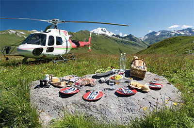 A picnic in France, Eleven Experience-style