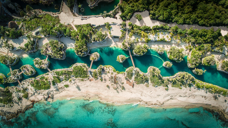 Aerial view © Hotel Xcaret Mexico