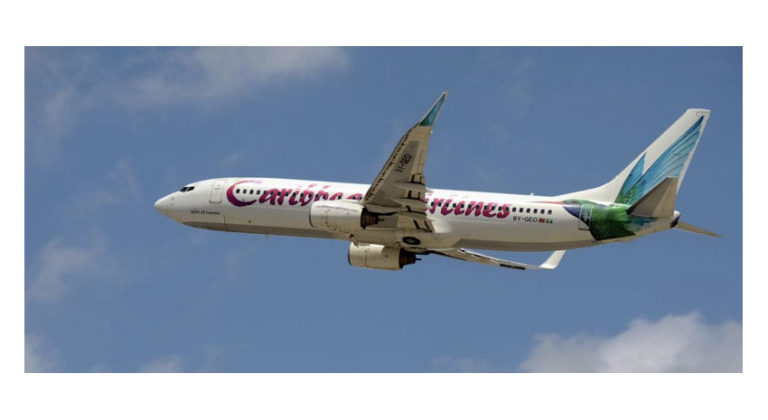 Caribbean Airlines is the major carrier on the Guyana–U.S. route.