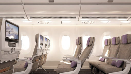 Airbus A350 interior © ASIANA AIRLINES