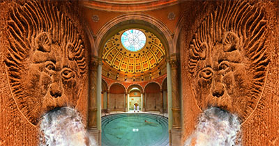 Friedrichsbad Roman Irish Bath at Baden Baden