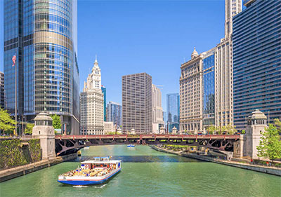 Chicago River sightseeing cruise