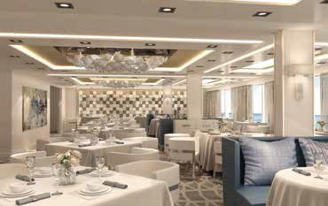 Norwegian Bliss Haven Restaurant