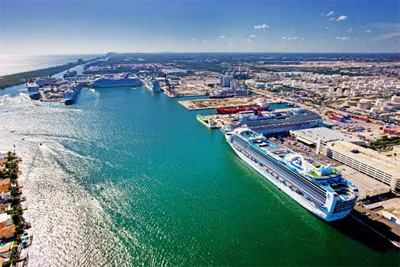 Fort Lauderdale's Port Everglades