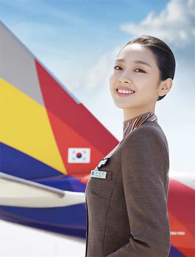 Best Airline for Onboard Service and Flight Attendants © ASIANA AIRLINES