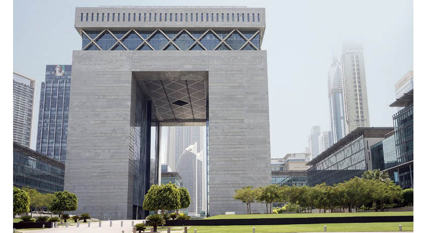The Gate Building at the Dubai International Financial Centre