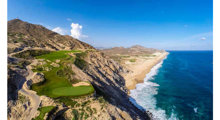 Hole 5 green © QUIVIRA GOLF CLUB