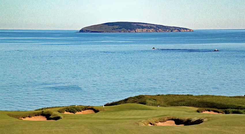 Cabot Cliffs Hole 15 PHOTO: © DONNELLE OXLEY