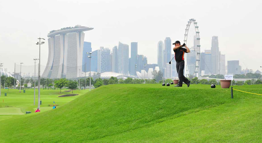 © MARINA BAY GOLF COURSE