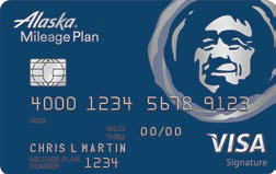 © ALASKA AIRLINES SIGNATURE CARD FROM BANK OF AMERICA