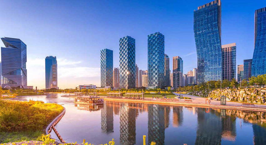Central Park in Songdo International Business District PHOTO: © PANYA KHAMTUY | DREAMSTIME.COM