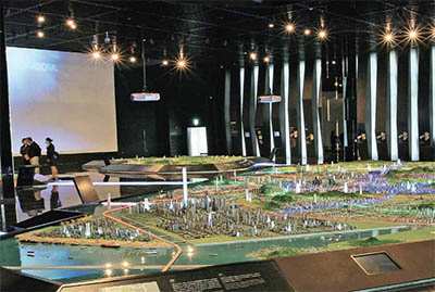 Incheon Metropolitan City Museum Compact Smart City, where visitors can learn about Incheon's past, present and future © INCHEON TOURISM ORGANIZATION