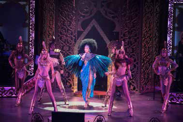 Cher performing at Park Theater