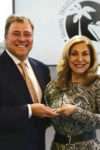 Francis X. Gallagher, publisher and CEO, Global Traveler; Edie Rodriguez, Crystal Cruises