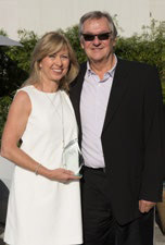 Kristin Karst, co-owner and executive vice president, and Rudi Schreiner, co-owner and president, AmaWaterways