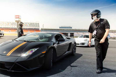Xtreme Xperience allows drivers to race a car at speeds exceeding 140 mph.
