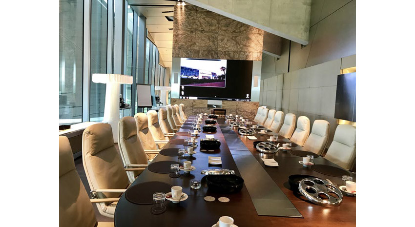 Meeting room at BMW Welt