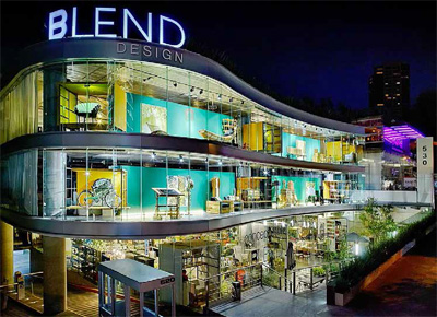 Blend Design concept store with designer products