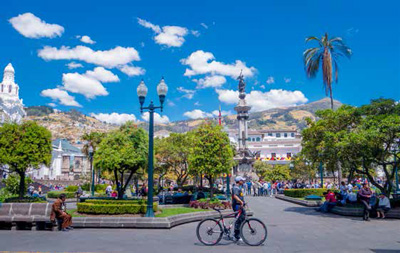 Independence Square in Quito