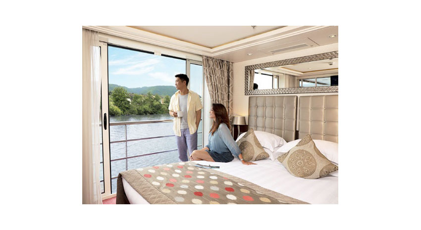 AmaWaterways balcony view © AMAWATERWAYS