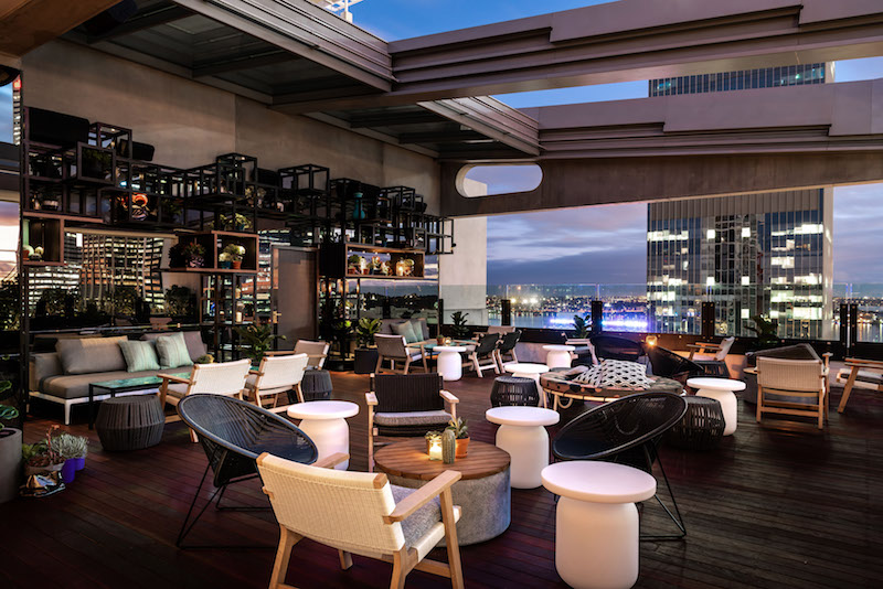 Rooftop at QT © Courtesy of QT Hotels & Resorts