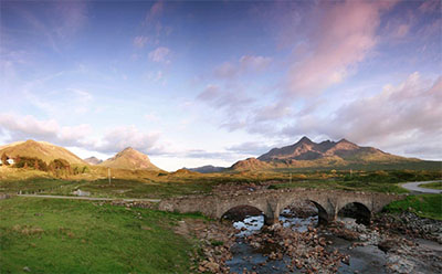 River Sligachan and Old Sligachan Bridge © VISITSCOTLAND