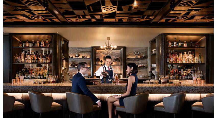 MO BAR at Mandarin Oriental, Singapore