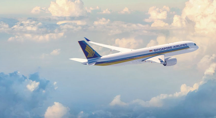 Airbus A350 aircraft © SINGAPORE AIRLINES
