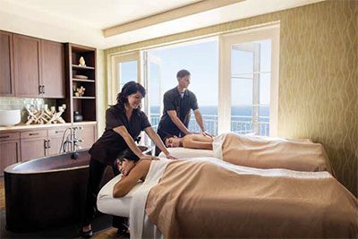 Terranea Resort couple's spa treatment
