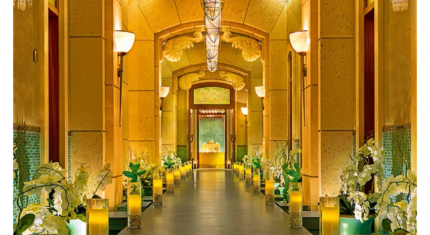 Entrance to ShuiQi Spa at Atlantis, The Palm