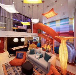 Ultimate Family Suite aboard Royal Caribbean's Symphony of the Seas © ROYAL CARIBBEAN