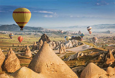 Rock Sites of Cappadocia, Turkey