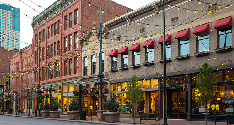 Larimer Square, Denver's oldest and most historic block