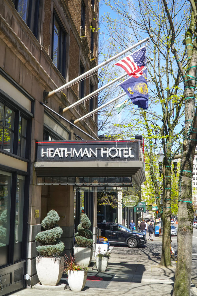Heathman Hotel in POrtland Oregon