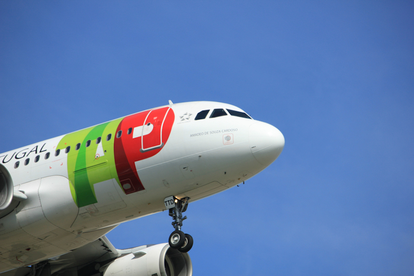 TAP - Air Portugal Airbus A319-100. Photo Credit: Studioportosabbia | Dreamstime.com