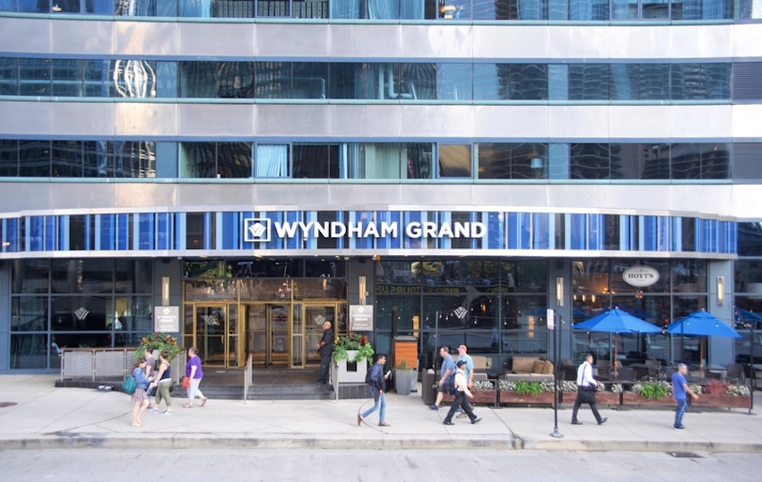 Wyndham Grand Hotel Downtown Chicago, Illinois. Photo: Calvin L. Leake | Dreamstime.com