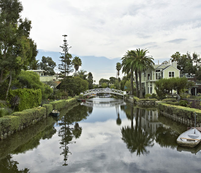 Secluded Beach Canals of Santa Monica