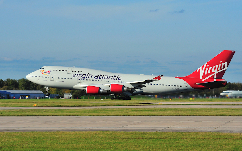 Virgin Atlantic Boeing