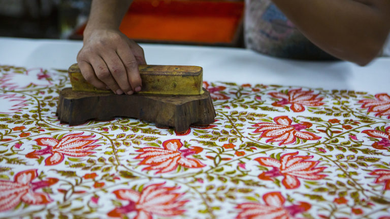Block Printing for Textile in India